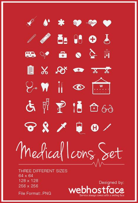 Free Medical Icons Set