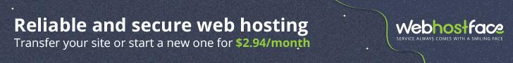 WebHostFace - Web Hosting Services