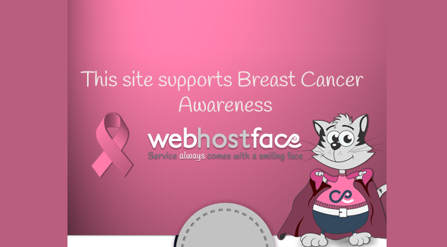WebHostFace goes Pink!