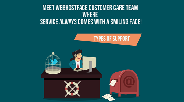 Customer Care @WebHostFace  [INFOGRAPHIC]
