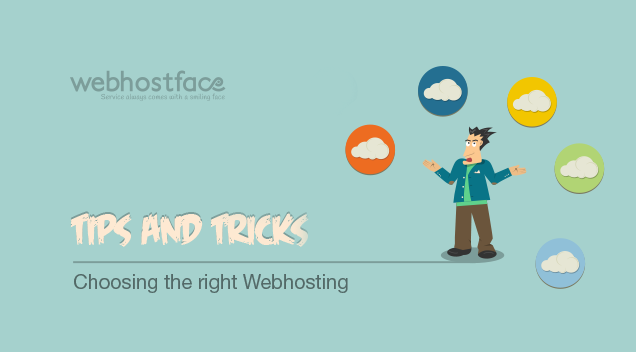 Tips and Tricks: Choosing the right Web Hosting