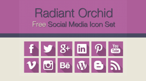 Friday gift to you- Free Designer Social Media Icons
