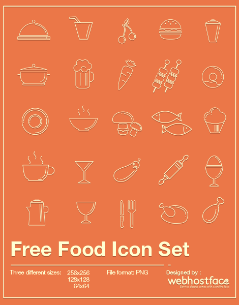 Free Food Icons Set