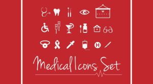 A Cure for Severe Design Conditions- Free Medical Icons Set