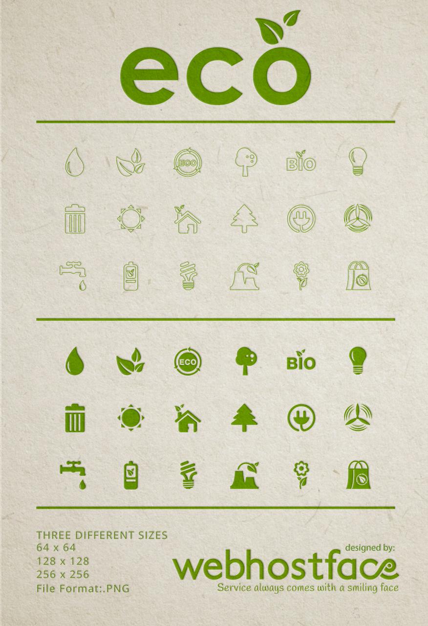 Free Eco Icons