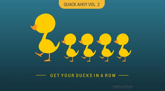 Quack Ahoy vol.2 : The Dehydrated Quacks