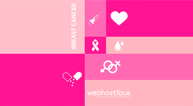 1 October: Breast Cancer Awareness Icons