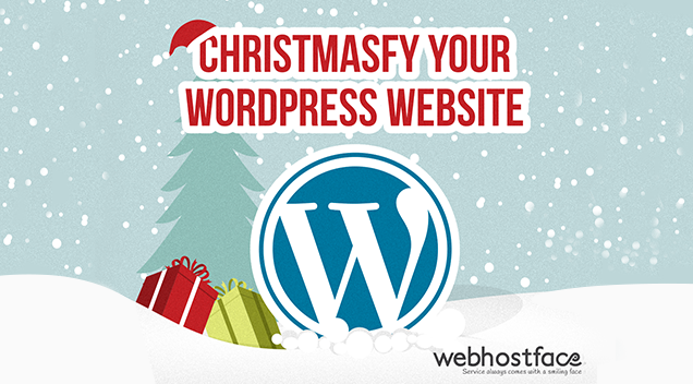 Christmasfy your WordPress website