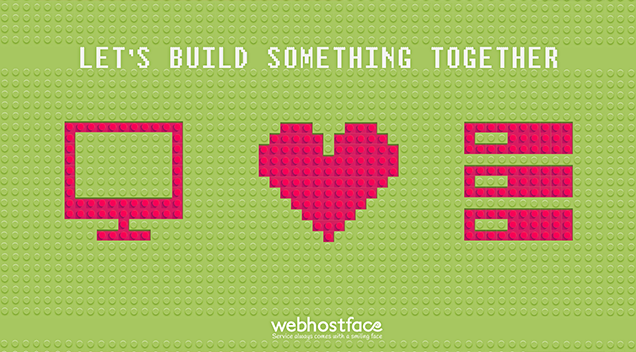 Let's build something beautiful together!  You are an important part!