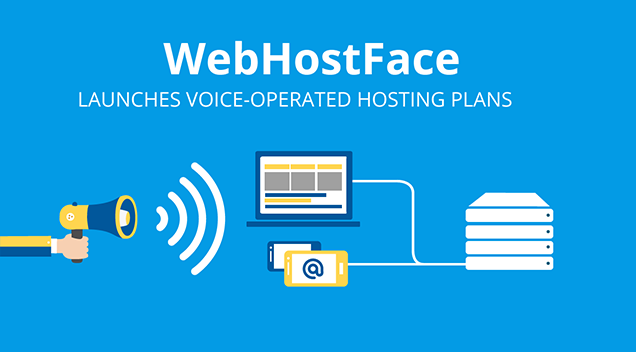 WebHostFace launches Voice Operated Hosting Plans