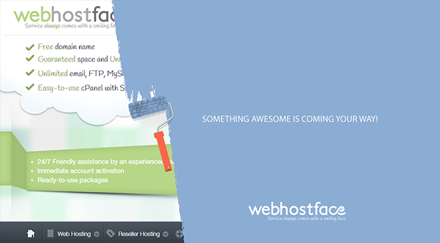 A brand new WebHostFace is coming soon! Get ready for this!
