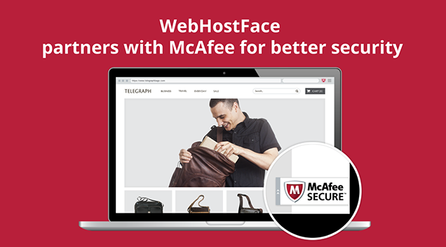 Show you're one of the good guys. Get McAfee SECURE Free with WebHostFace