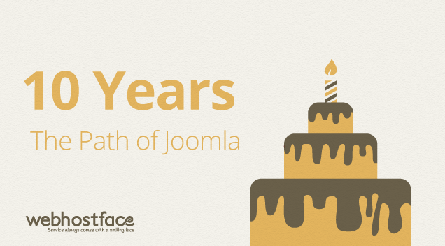 Joomla's 10th Birthday – a timeline of success [Infographic]