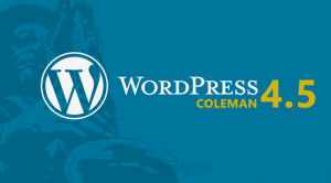 WordPress 4.5 – Coleman
