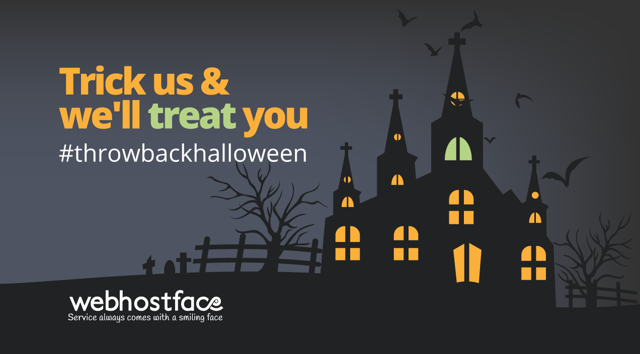 Trick us and we'll treat you – Halloween contest