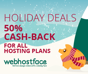 Christmas Deal 50% Cash-back