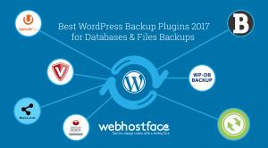 Best WordPress Backup Plugins 2017 for Databases & Files Backups