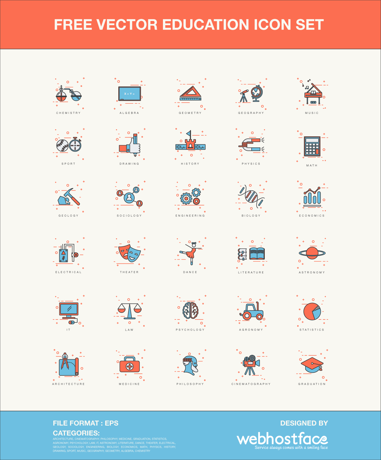 Free Education Vector Icons