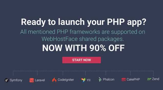 cheap php framework hosting
