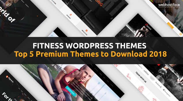 Fitness WordPress Themes | Top 5 Premium Themes to Download 2018