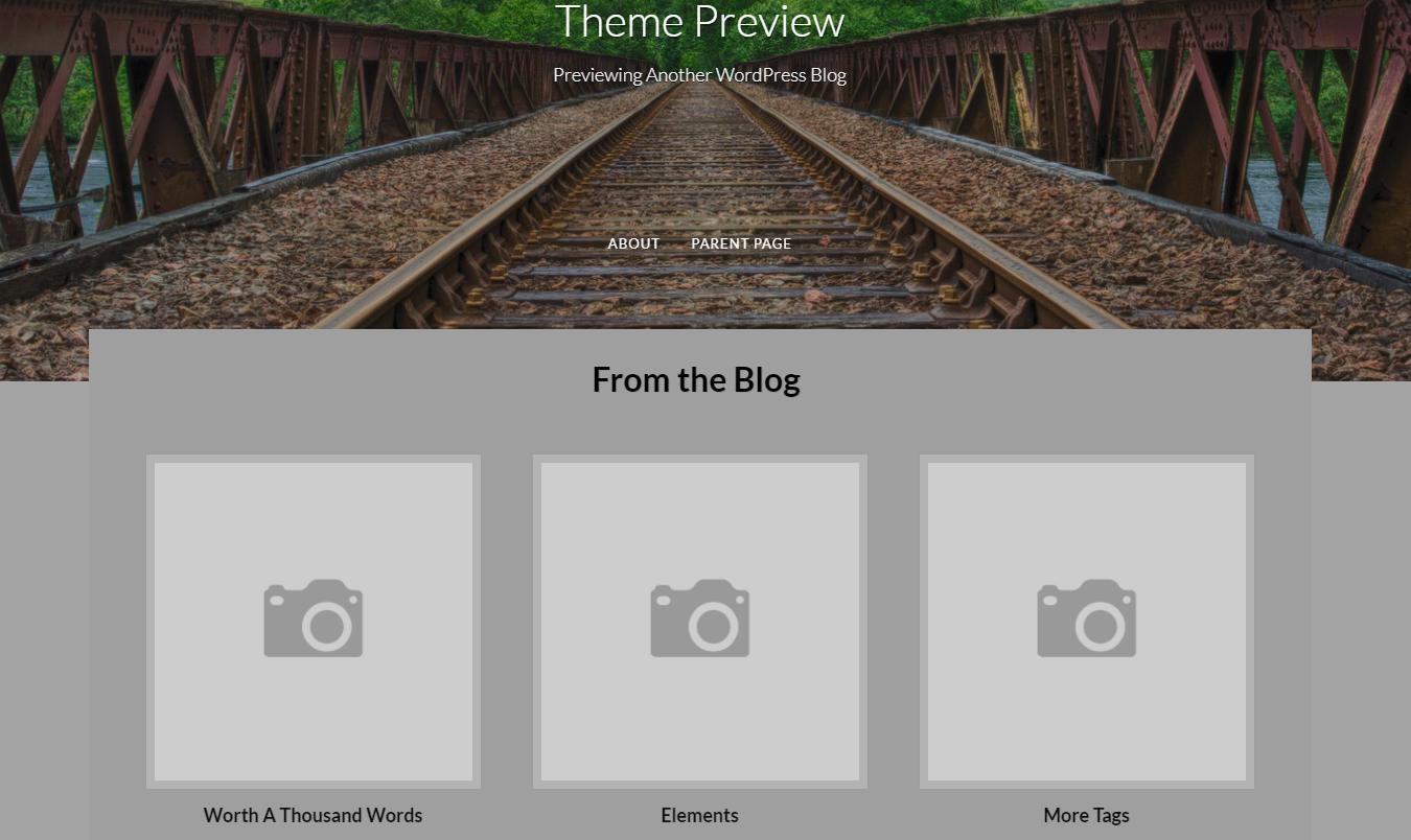 Fifteeen WordPress Theme