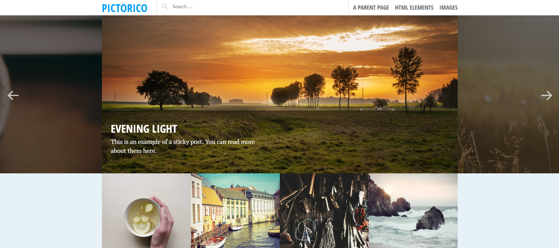 Pictorico WordPress Theme