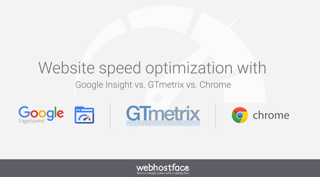 Website speed optimization with Google Insight vs. GTmetrix vs. Chrome