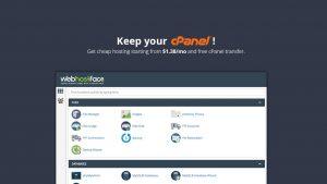 WebHostFace to Keep cPanel Hosting!
