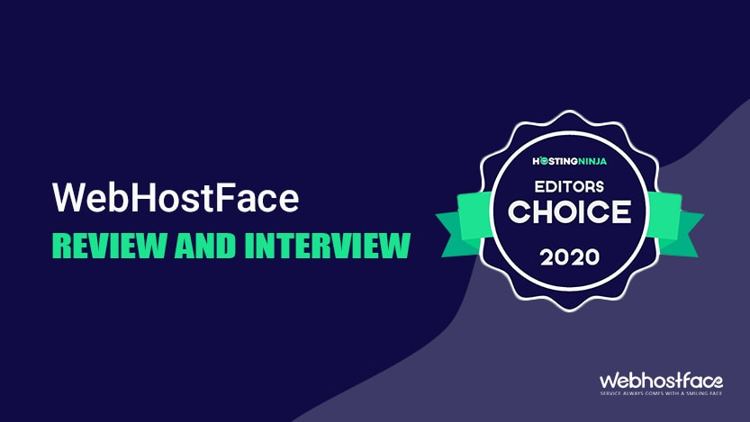 WebHostFace review by HostingNinja