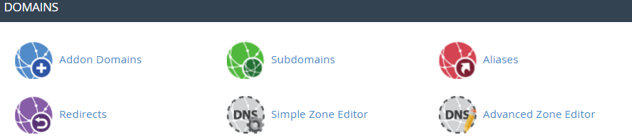 Advanced DNS zone editor cPanel