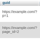 guid column