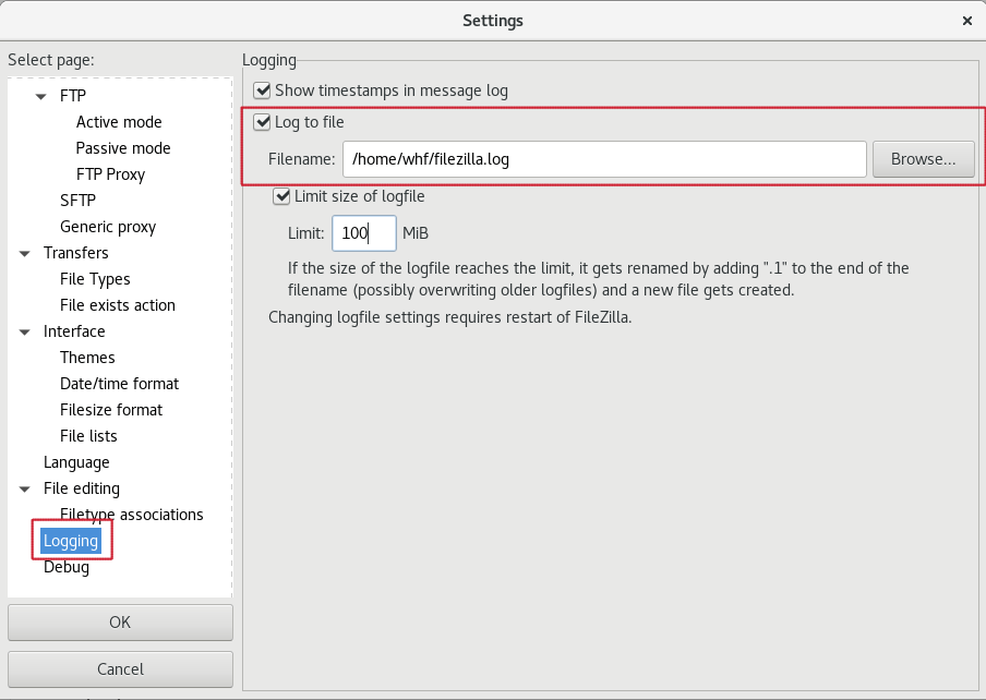 How To Enable FTP Logs in FileZilla? Make logs for FTP upload/download