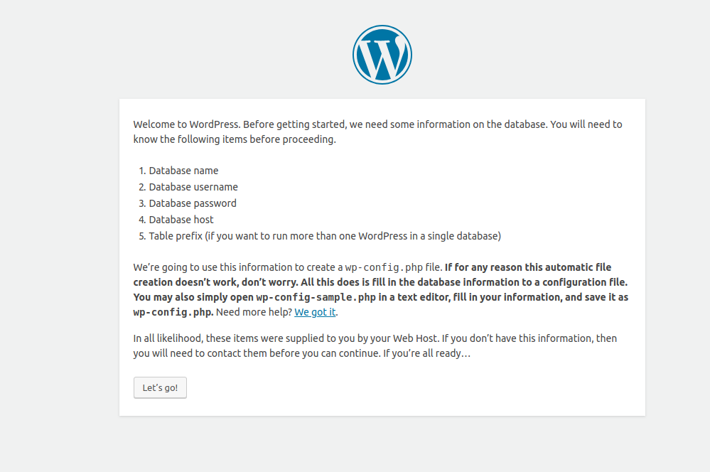 Know your WordPress installation details